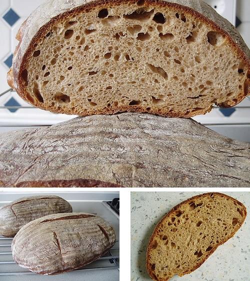 Normannisches Brot mit Roggen