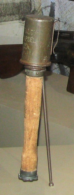 NMAH101 - WWI - German - Model 24 Stielhandgranate (Stick Grenade) - 1915
