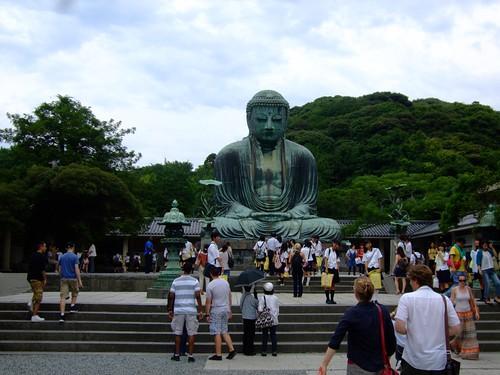 Giant Buddha in Kamakura