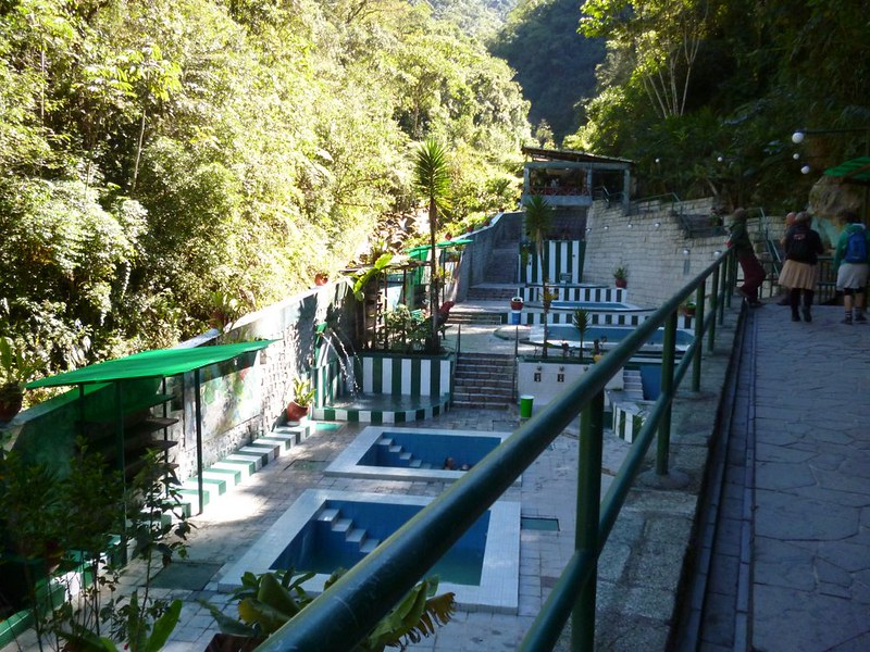 Pools at Aguas Calientes hot spring