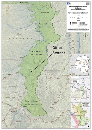 location of Gbado savanna