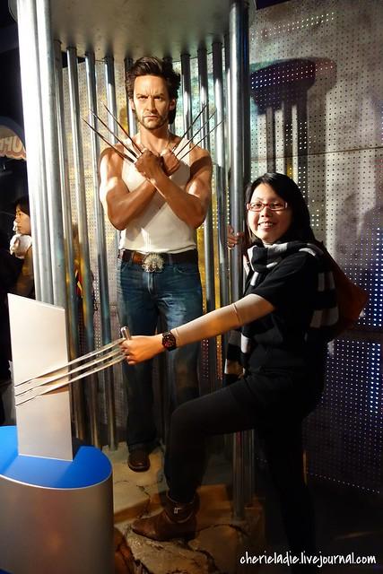 Wolverine wax figurine with Cindy