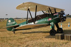 piper pa-18(0.0), polikarpov po-2(0.0), flight(0.0), aviation(1.0), biplane(1.0), airplane(1.0), propeller driven aircraft(1.0), vehicle(1.0), light aircraft(1.0), boeing-stearman model 75(1.0), ultralight aviation(1.0),