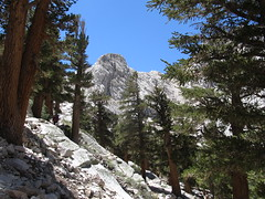 Ascent from Outpost Camp to Mirror Lake, 3.9-4.5 Miles, Mount Whitney Trail, California