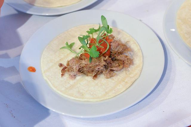 Michael's carnitas taco