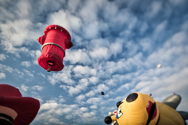 Gatineau Hot Air Balloon Festival - hydrant