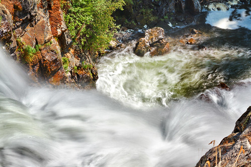 longexposure travel mist motion creek canon waterfall movement stream hiking sigma hike spray rapids idaho falling 7d goosecreek cascade mccall centralidaho 1750mm payettenationalforest goosefalls