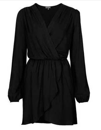 Topshop Chiffon Dress