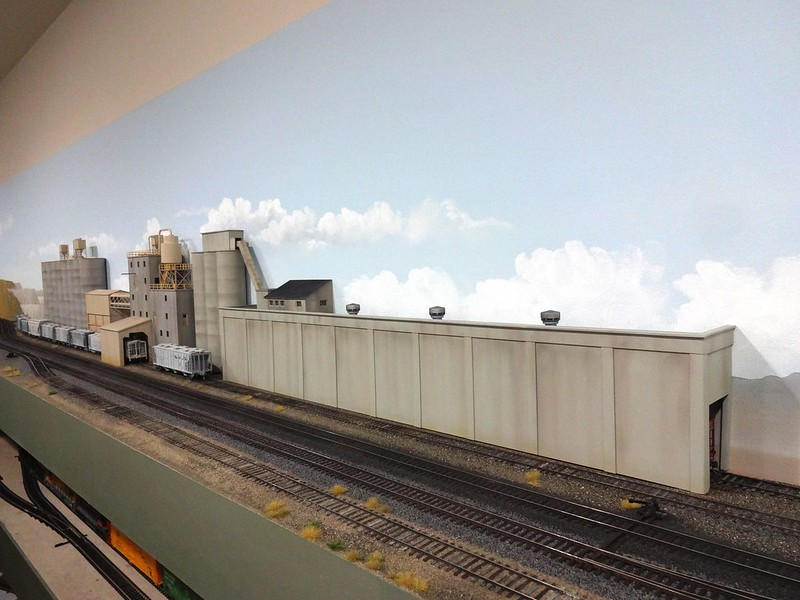 Ideal Cement Industry On The 8th Sub Model Railroad