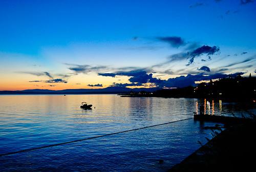 sunset croatia hrvatska crikvenica kvarner selce