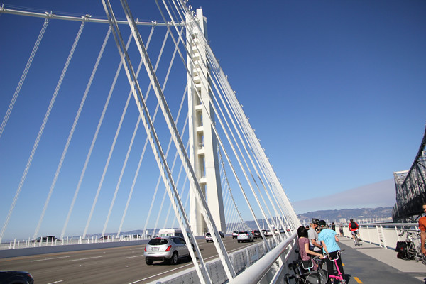 Bay Bridge column