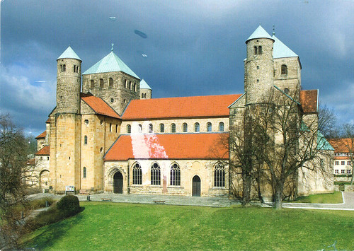 "Germany - St Michael's Church, part of the ""St Mary's Cathedral and St Michael's Church at Hildesheim"""