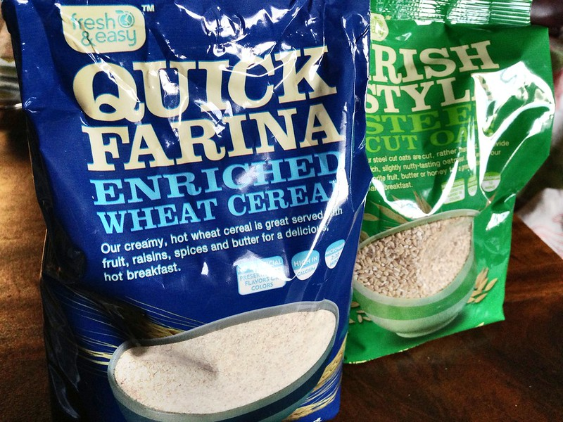 Farina/Irish Steelcut Oats