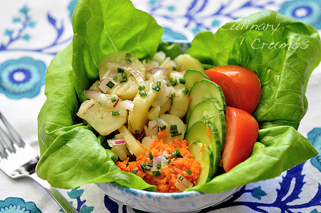 austrian-style potato salad