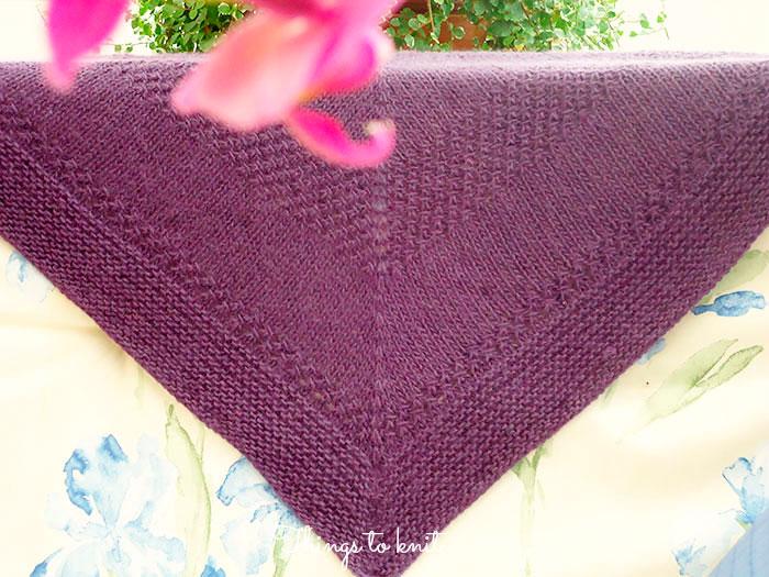 kal textured shawl