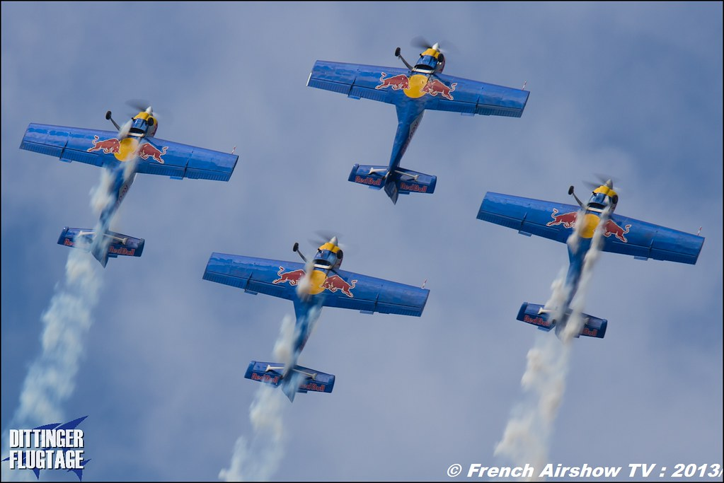 RED BULL the flying bulls at Dittinger Flugtage 2013