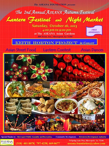 Aseana Night Market, 4 pm to 9 pm, Oct 26, Shreveport by trudeau
