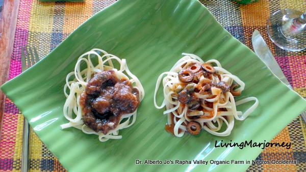 Shitake Mushroom Pasta Dish