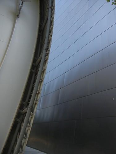 DSCN8514 _ Structure Detail, Walt Disney Concert Hall, Los Angeles, July 2013