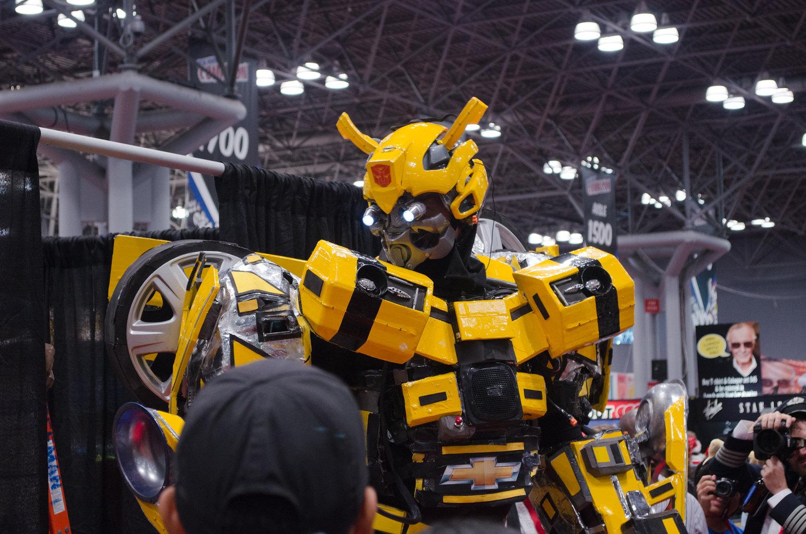Bumblebee Cosplay NYCC 2013