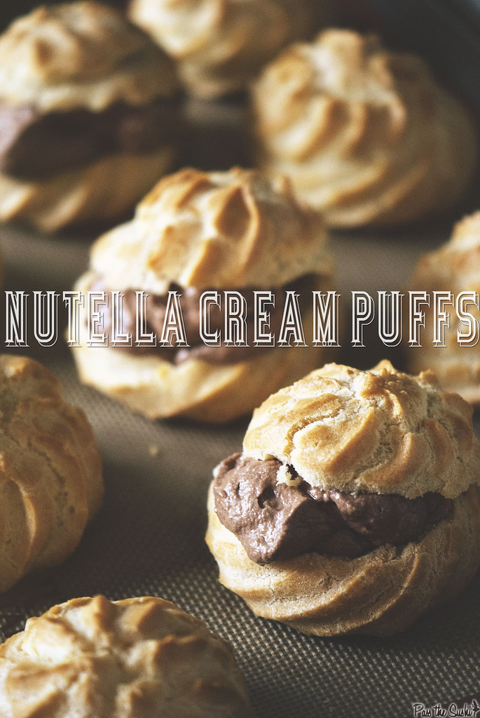 Nutella Cream Puffs from PasstheSushi.com