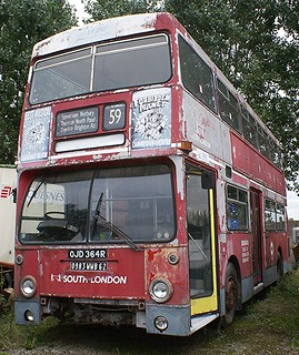 ex South London Daimler Fleetline