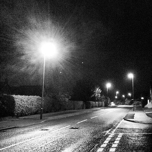 Streetlight Going Nova #iphoneonly #derby #oakwood #uk #eastmidlands #england #emowalk