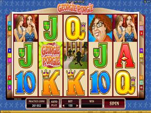 Rhyming Reels – Georgie Porgie Slot Machine