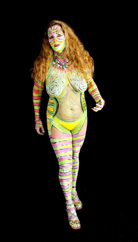 bodypaint art