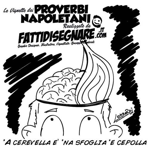 'A cerevella è 'na sfoglia 'e cepolla by Giuseppe Lombardi