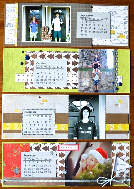 2014 photo calendar Jan-Apr