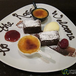 Lovely Welcome Desserts at The Ross Hotel - Killarney, Ireland