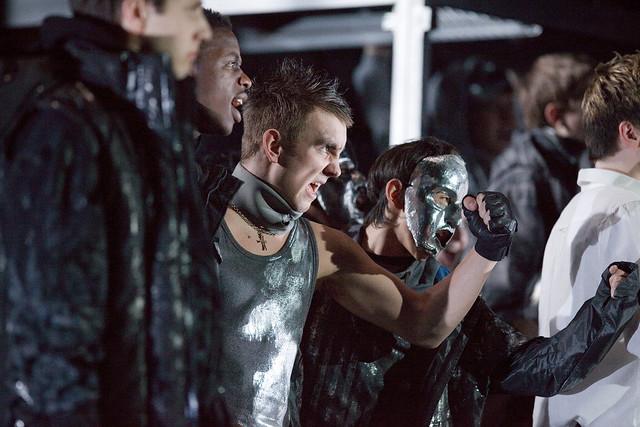 The cast of Knight Crew, Glyndebourne © David Illman