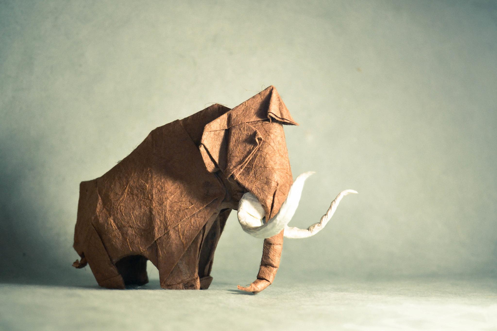 Origami Mammoth - Artur Biernacki