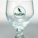 ベルギービール大好き!!【エルゼルワーズ・クワンティーン・ブロンドの専用グラス】(管理人所有 )