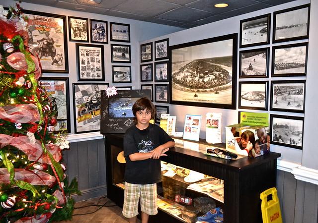 historic photo gallery at racing north turn
