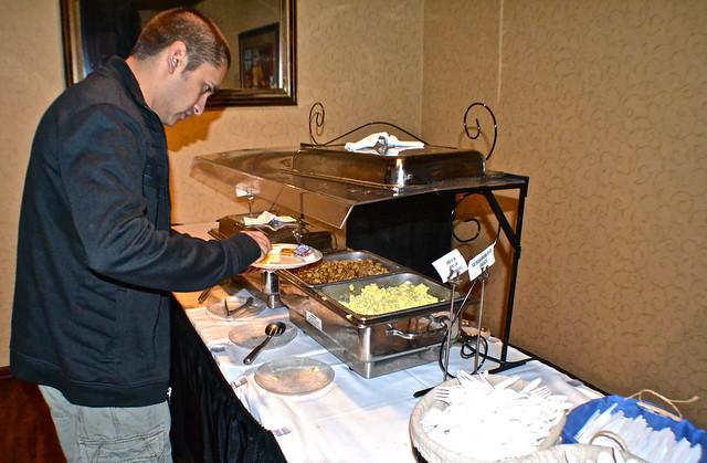 Park View Hotel, Winter Haven, Florida  - breakfast buffet