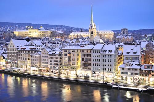Winter in Zurich | Zurich (Switzerland) in winter at ...