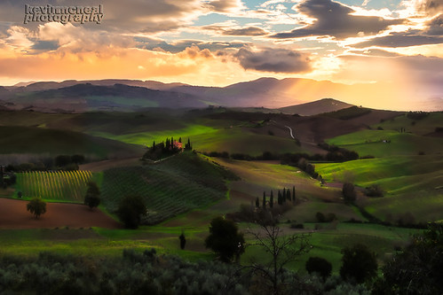 The Iconic View Of Tuscany
