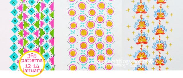 12-14 January - 365 pattern