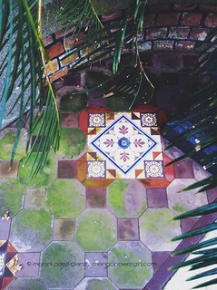 charleston tiles that came via india