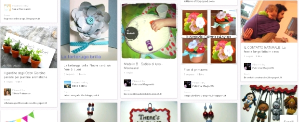 italian crafty community pinterest