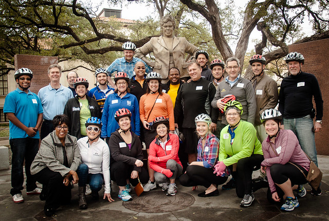 The NCSL Executive Committee Bike Ride-3420
