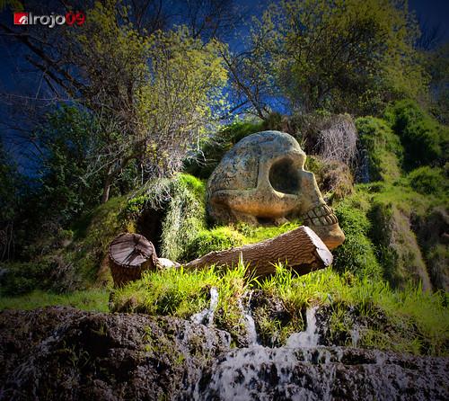 Ruta de las caras | Monasterio de piedra by alrojo09