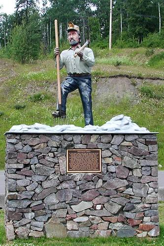 Hazelton, Yellowhead Highway 16, Northern British Columbia, Canada