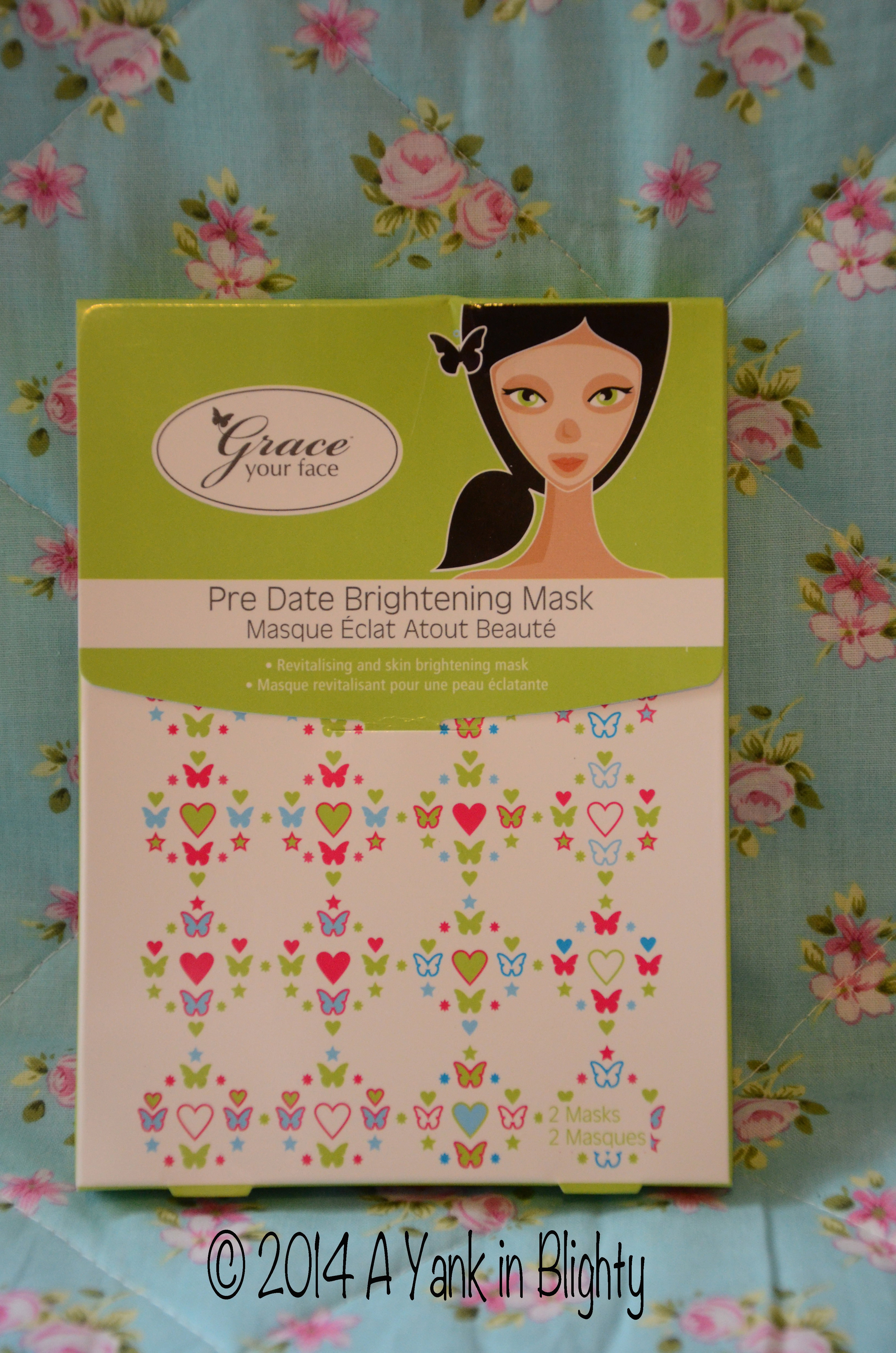 Grace Your Face Pre Date Brightening Mask