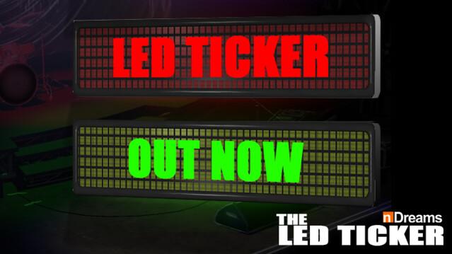 LED Ticker