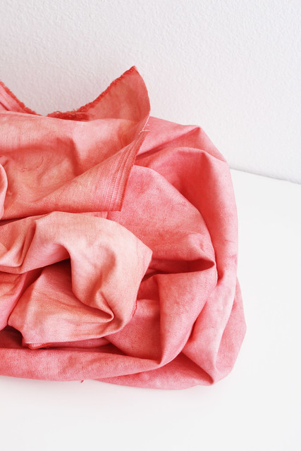 coral dyed.