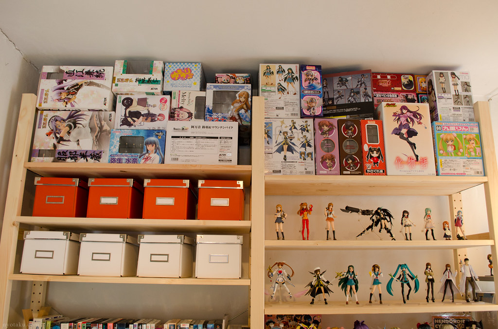 Figure box storage