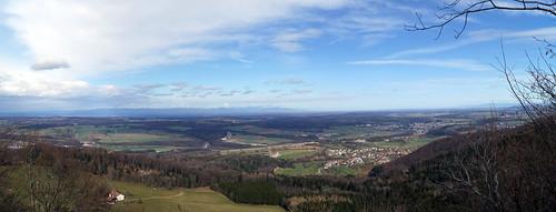 panorama nature montagne soleil suisse vert porrentruy